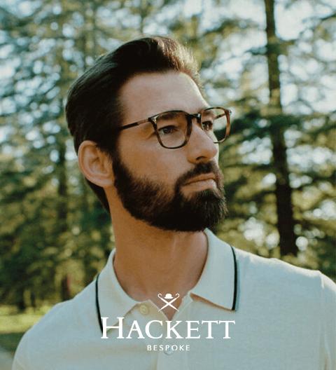 Hackett designer frames